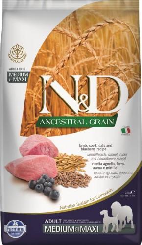 N&D Ancestral Dog Lamb & Blueberry Adult Medium & Maxi